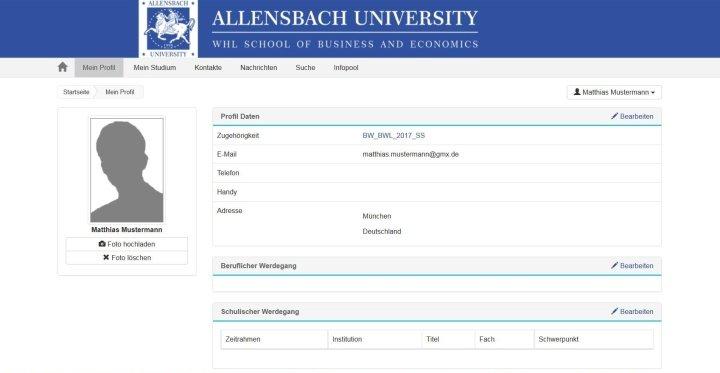 Slide Profil Online-Campus