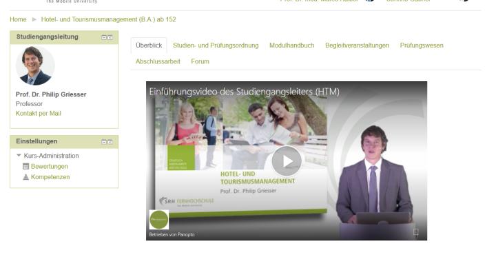 Slide Immer an der Seite: Studiengangsleitung und -betreuung