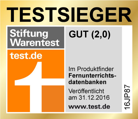 stiftung warentest k rt fernstudiumcheck zum testsieger. Black Bedroom Furniture Sets. Home Design Ideas