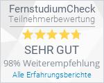 Fernakademie der Deutschen Heilpraktikerschule - Bewertung auf FernstudiumCheck.de